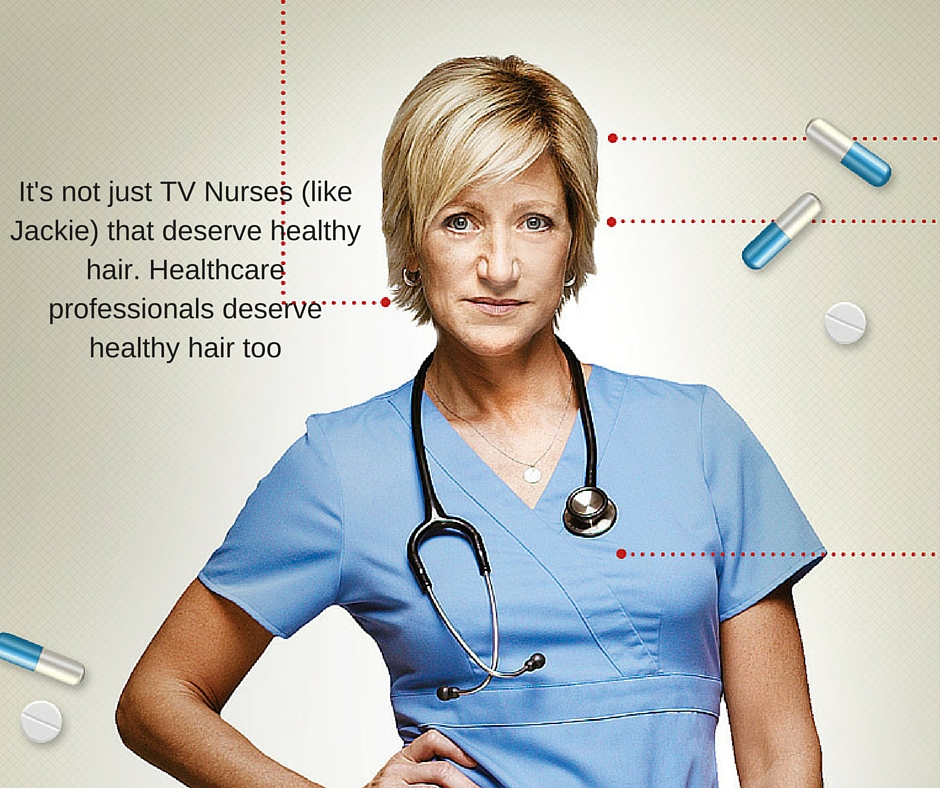 Healthcare Professionals Deserve Healthy Hair too